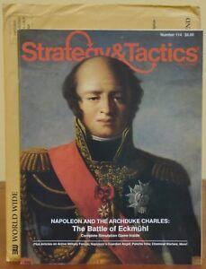 Strategy & Tactics, S&T, #114, Battle of Eckmuhl , 3W