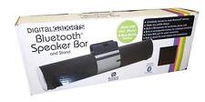 Digital Gadgets Wireless Bluetooth Speaker Bar Stand Built In Microphone - Black