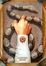 A CLOCKWERK ORANGE by Boris Pelcer - Mondo 24x36 Screen Art Print Poster