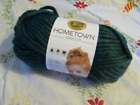 NEW LION BRAND HOMETOWN Montpelier Peacock Blue Yarn Acrylic USA 113 g 135 175