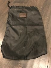 Polo Ralph Lauren Black Label Shoe carrying bag, Bag Only Black Dust Bag Logo