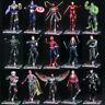 "Marvel Avengers Ironman Captain America Spiderman Vision Thanos 7"" Figure Loose"