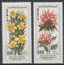 Syrien Syria 1990 ** Mi.1830/31 Pflanzen Plants Blumen Flowers Daffodils