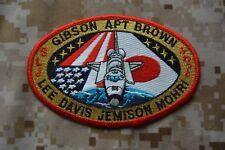 Y21 écusson insigne patch Aérospatiale GIBSON APT BROWN SLJ LEE DAVIS  JEMISON 4f75ba22bf8