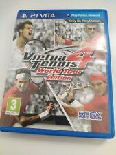 Virtua Tennis 4 World tour edition jeu par SEGA pour PS Vita/Playstation