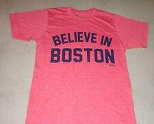 Fenway Red Sox Version Boston Believe in Boston T Shirt Size XLarge FREESHIP
