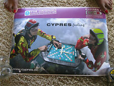 "Official Airtec Cypres Scrabble advertisment +/- 16"" x 22""  durable material"