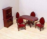 Dollhouse Furniture * 6 pc. Dining Room SET  #2586 ~ scale1:12 ~ Melissa & Doug