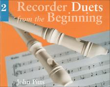 Contrapunto Grabadora dúos desde el principio libro 2 dúo Partituras Libro Cancionero