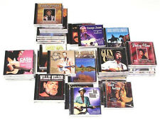 50 CLASSIC COUNTRY CD LOT Merle Haggard,Willie Nelson,Conway Twitty,George Jones