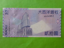 Macau BNU 20 patacas 2005 (PERFECT UNC)