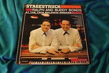 Stagestruck Ralph and Buddy Bonds At The Twin Baldwin Organs LP LN3710
