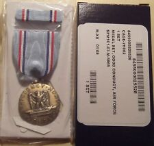 U.S. Air Force Good Conduct GI Issue Medal Set in BOX
