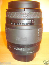 SIGMA  UC ZOOM 70-210MM MULTI-COATED AUTOFOCUS LENS WITH FRONT & REAR CAPS 7J16
