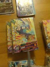 DRAGON BALL Z DBZ HEROES JAAKURYU MISSION PART 7 CARD REG CARTE HJ7 REG SET NM