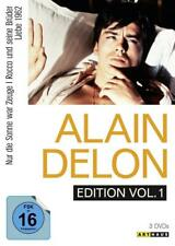 Alain Delon Edition  [3 DVDs] Nur die Sonn../Rocco Brüder/Liebe 1962  NEU (1258)