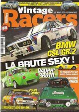 VINTAGE RACERS 8 DAUPHINE ABARTH 1300 SCORPIONE BMW 3.0 CSL TALBOT SUNBEAM LOTUS