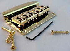 "NEW Bridge HARDTAIL gold 2""3/16 ""through body""for guitar stratocaster"