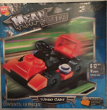 Block Tech Mean Streets Turbo Cart 18 pieces Car Kids Toys New Free Ship