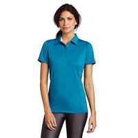 Women's PUMA Golf Tech Polo Shirt Turkish Tile Blue size S (T3) $55