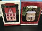 HALLMARK NOSTALGIC HOUSES & SHOPS--1996 & 1997--IN BOXES----------------mc