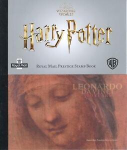 GB 2018-19 Harry Potter & Leonardo Da Vinci Prestige Bklts DY27 DY28 (FV £28.77)
