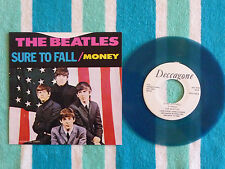 BEATLES Sure To Fall 45 rpm BLUE WAX w/ PICTURE SLEEVE Deccagone 1976