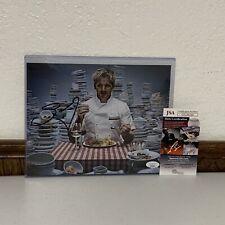 Gordon Ramsay Hells Kitchen Masterchef Autograph Signed 8x10 Photo JSA Authentic