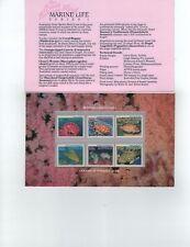 1985  Marine Life Series I  Post Office Pack MUH