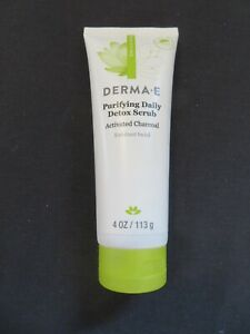 Derma E Purifying Daily Detox Scrub Activated Charcoal 4 Oz @6