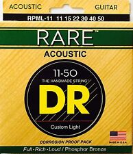 DR  RPML-11 Rare Acoustic Guitar Strings med/Lite gauges 11-50