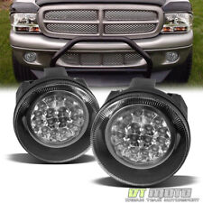 2001-2004 Dodge Dakota 01-03 Durango Hyper LED Bumper Fog Lights Lamps w/Switch