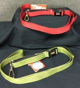 KONG 6ft Comfort Padded Handle Hands Free Leash~ Choice of Red OR Green~ NEW!