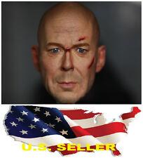 ❶❶1/6 KUMIK Walter Bruce Willis Head Sculpt Sin City RED 2 HOT TOYS US seller❶❶