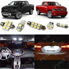 13x White LED lights interior package kit for 2016-2017 Dodge Ram DR2W