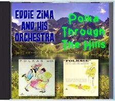 MZ 170 - Eddie Zima & His Orchestra - Polka Through The Hills - POLKA CD