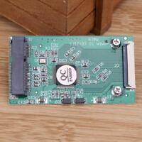 1pc Mini SATA mSATA PCI-E IPOD SSD to 40pin 1.8 Inch ZIF CE Converter Cable Card