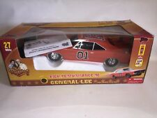 Dukes of Hazzard General Lee 1969 Dodge Charger RC 1:10 27mhz Used In Box 1/10