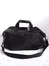 Calvin Klein Black Cotton Nylon Duffle Bag