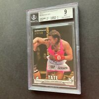 Miesha Tate 2013 Topps UFC Knockout Gold 173/188 #88 2nd Year Card BGS 9 Mint