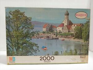 "Vintage 1974 MB Puzzle Germany Magnum Series 2000 Pieces LARGE 24"" x 40""  #4280"
