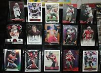 Buccaneers RC rookie auto serial #d Prizm card lot Doug Martin Brett Smith
