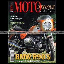 MOTO D'EPOQUE N°28 BMW R 90 S MATCHLESS G50 LAVERDA 1000 HONDA RS TT VESPA SPORT