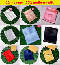 Seamless 22mm 100% Mulberry Silk Flat Sheets Top Sheet All Size Sisters-Silk