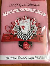 Paper Miracle Pop Up Greeting Card Valentines Day February 14 Calendar Card