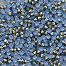 1028 PP32 ABO *** 30 strass Swarovski fond conique 4mm AIR BLUE OPAL F