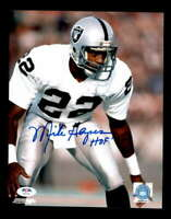 Mike Haynes HOF 97 PSA DNA Coa Hand Signed 8x10 Autograph Photo