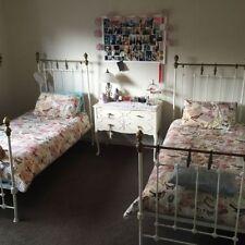 White Iron Beds & Mattresses