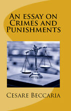 An Essay on Crimes and Punishments Cesare Beccaria Law Book Torture Oath Suicide