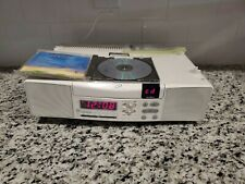 New listing Ge SpaceMaker Stereo Cd Player Am/Fm Radio W/Light Under Cabinet 7-42900 & Cd